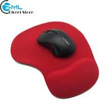 Tapis de souris de jeu de tapis de souris de confort de mise à niveau avec le Support de repose-poignet de Gel tapis de souris de bureau brillant antidérapant pour la souris dordinateur