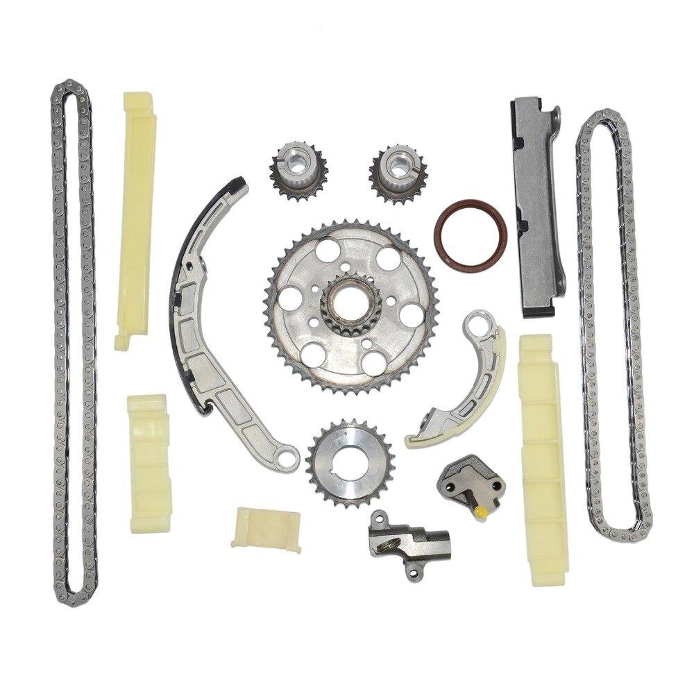 AP02 Zweireihig Timing Kette Getriebe Spanner Kit Für Nissan Pathfinder Navara D40 2,5 dCi YD25DDT 13028-EB300