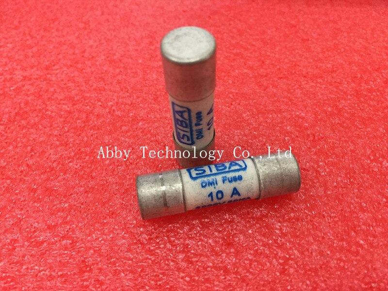 5 sztuk/partia 10mm x 38mm 10Amp 10A 1000 V SIBA bezpiecznik ceramiczny 10x38mm Brand New