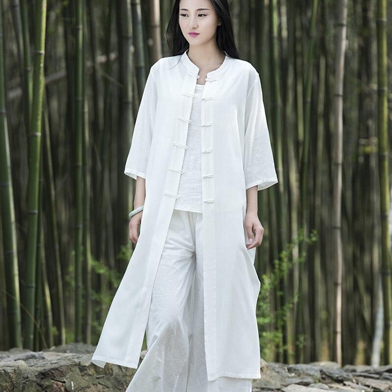 Женская Длинная блузка, белая, розовая, летняя, винтажная, B117