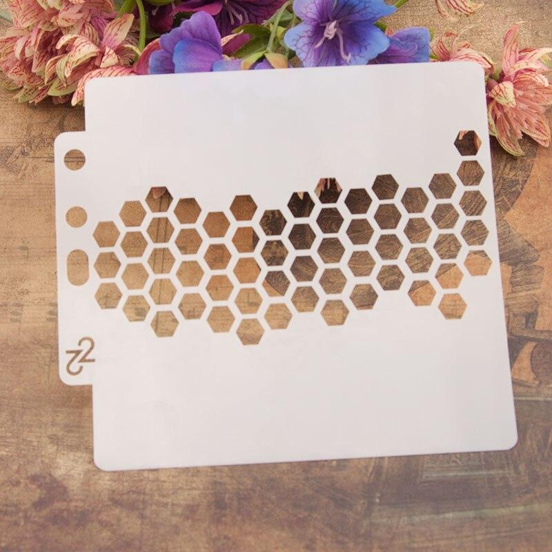 Dolce Vita plantilla para álbum de recortes herramienta de decoración de pasteles Plantilla de fondant de decoración DIY para álbum de recortes Plantilla de pulverización