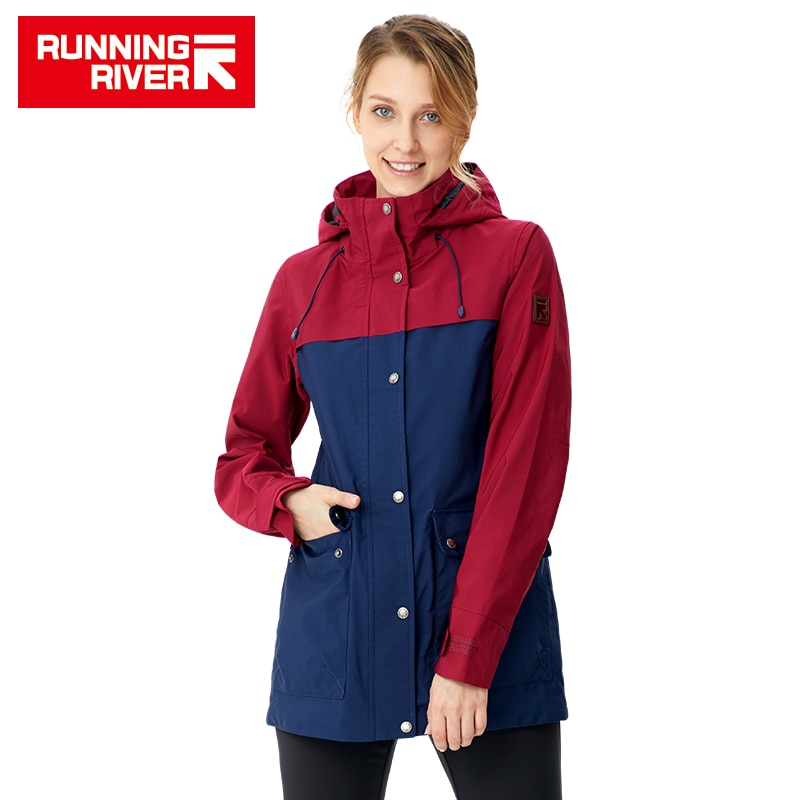 RUNNING RIVER Women Camping Hiking Jacket 4 Colors Size 36 - 46 High Quality Clothes Outdoor windbreaker Windproof coat#K8363