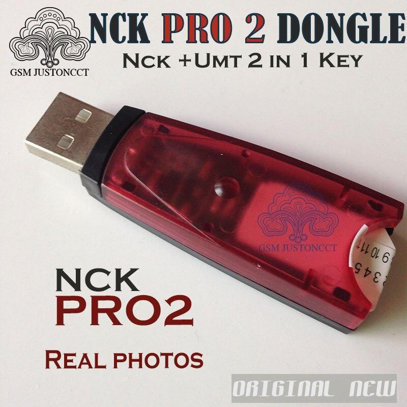 100% Original NCK Pro Dongle NCK Pro2 DONGLE nck clave NCK + UMT Dongle 2 in1 clave