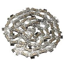 DSHA lame de scie à bois 14 pouces   Chaîne de scie à chaîne, pièces de scie à chaîne 52 maillons dentraînement, scie à chaîne 3/8
