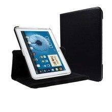 Funda de piel pu abatible multirotativa GT-N8000 N8010 para Samsung Galaxy Note 10,1 Edición 2012, funda con soporte de piel tipo folio
