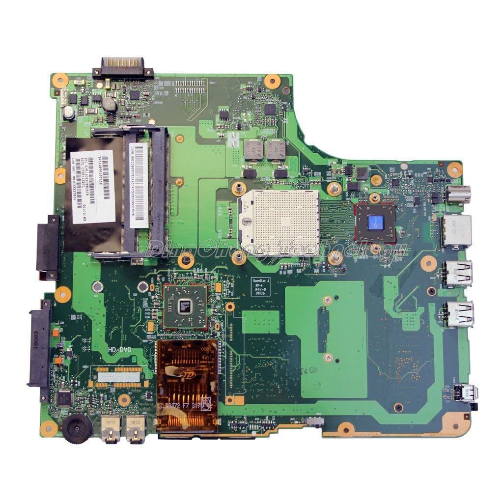 Holytime placa-mãe do portátil para toshiba satellite a210 a215 210d a215 6050a2127101-mb-a02 v000108720 placa gráfica integrada