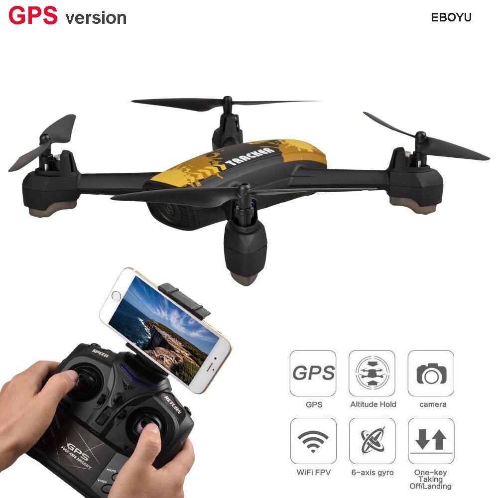 JXD 518 GPS Drone 2,4G 4CH 720P HD Cámara Wifi FPV GPS minería punto altitud RC Quadcopter Drone RTF