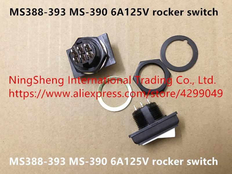 Nuevo interruptor basculante Original 100% Japón MS388-393 MS-390 6A125V