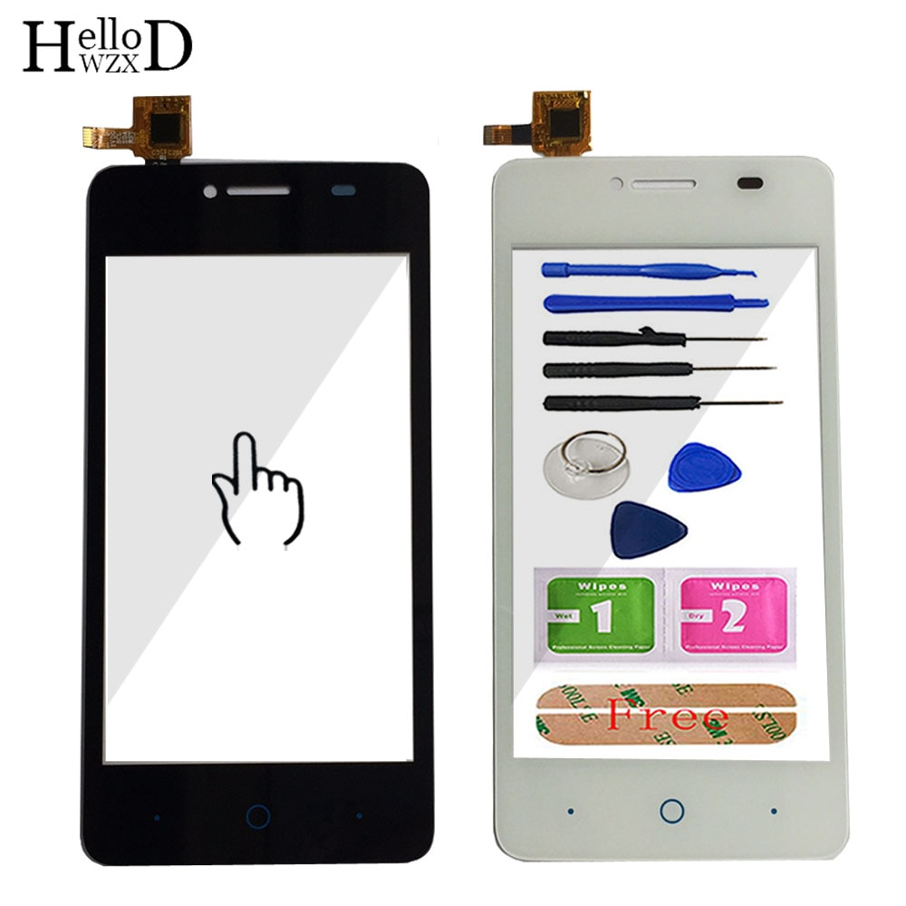 Mobile Phone Touch Glass Screen Digitizer Panel For ZTE Blade A3 T220 AF3 T221 A5 A5 Pro Lens Sensor