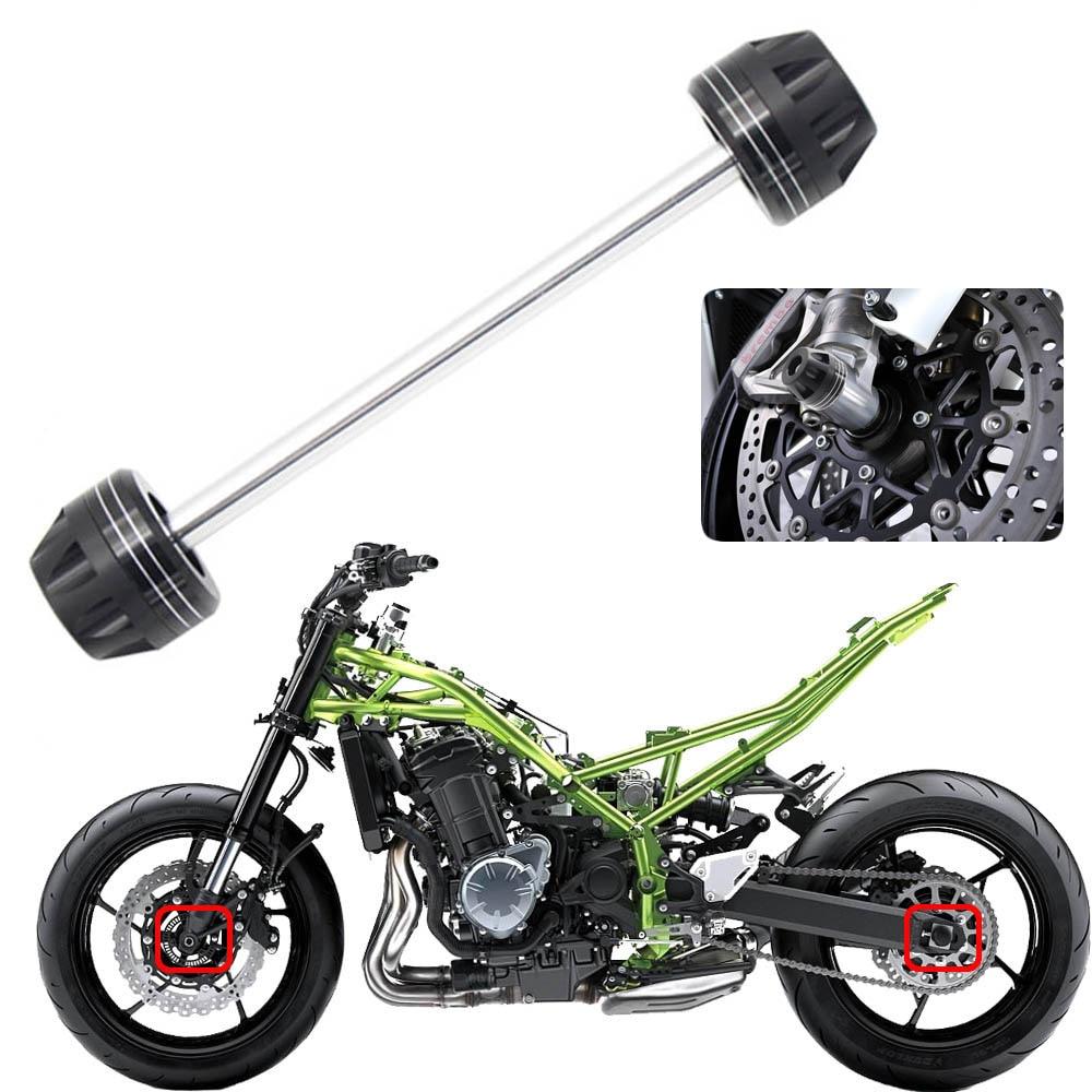 Deslizadores protectores de rueda de alta calidad para horquilla delantera de motocicleta protección contra caídas para KAWASAKI Z1000 2010-2016