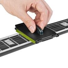 1 pièces guitare électrique basse cordes épurateur frotter outil de nettoyage entretien entretien guitare chaîne nettoyant accessoires de guitare