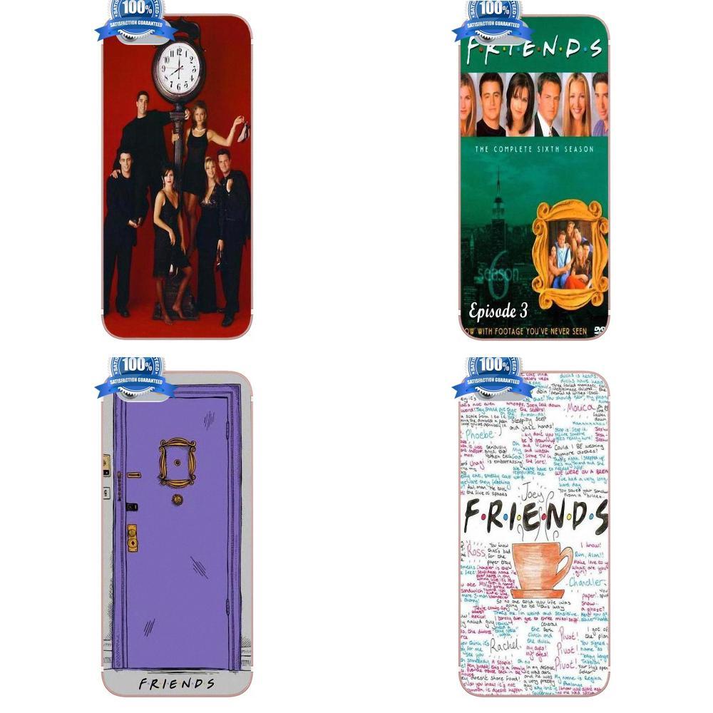 Oedmeb amigos Serie de Televisión de comedia para Apple iPhone 4 4S 5 5C 5S SE 6 6S 7 8 Plus X para LG G3 G4 G5 G6 K4 K7 K8 K10 V10 V20