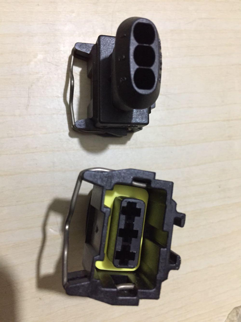 Para Volvo 210/260/290/S80/XC90/XC60 CAM sensor de manivela auto conector de clavija 3Pin