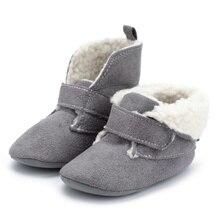 2019 mocasines para bebé recién nacido bebé caliente Fondo suave bebé interior zapatos de cuna de bebé en primer lugar los caminantes 0-18M