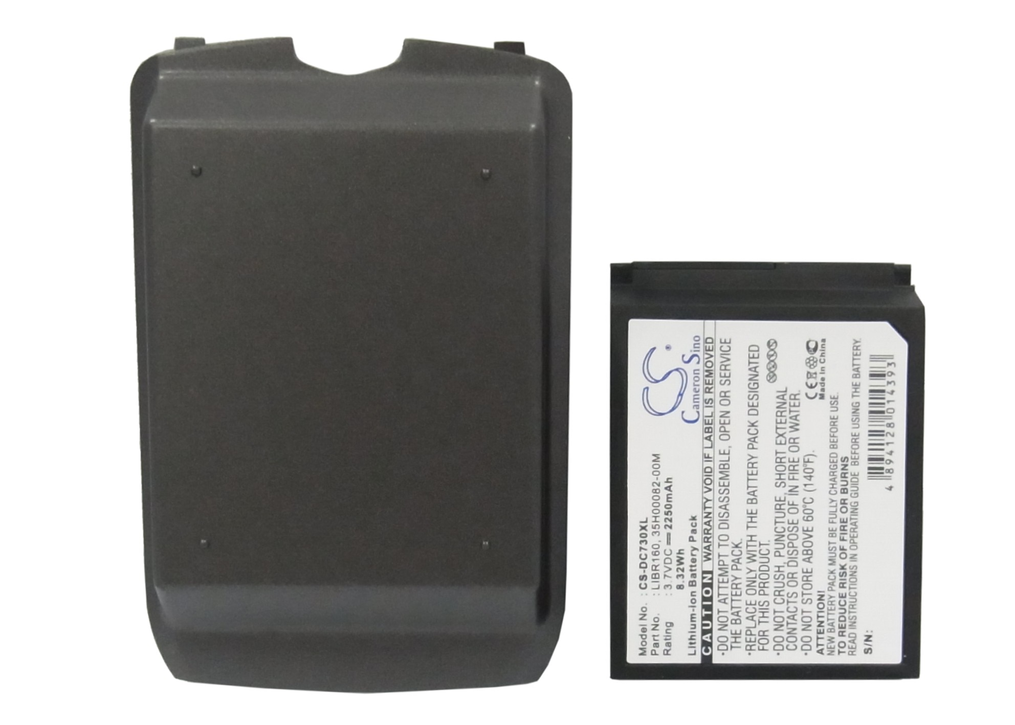 Batería de 2250mAh para HTC/DOPOD S630, C730, C730W, para SoftBank X02HT