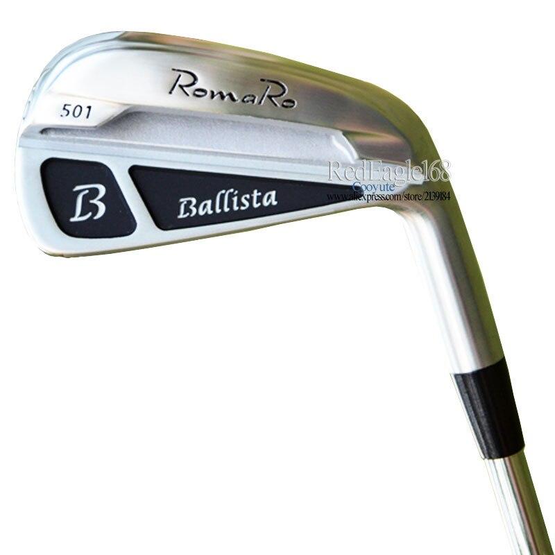 Nouveaux Clubs de Golf RomaRo balista 501 fers de Golf 4-9P fers de club acier ou Graphite arbre de Golf et fers poignées livraison gratuite