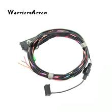 Guerrier orsarrow adaptateur de câbles   Module Bluetooth, Microphone sans fil, harnais de câbles, pour VW RCD510 9W2 9W7 9ZZ adaptateur dautoradio