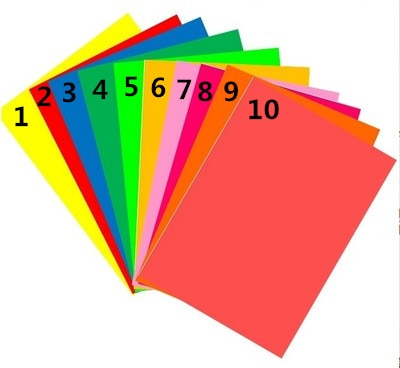 50 folhas a4 auto-adesivo etiqueta colorida papel de etiqueta a laser inkjet impressão jardim de infância estudantes crianças padrão de papel diy