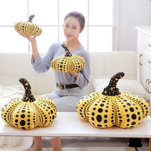Calabaza creativa de peluche de juguete de Halloween para fotografía accesorios de decoración de fiesta verduras rellenas en forma de calabaza almohada 20/30/40/50cm