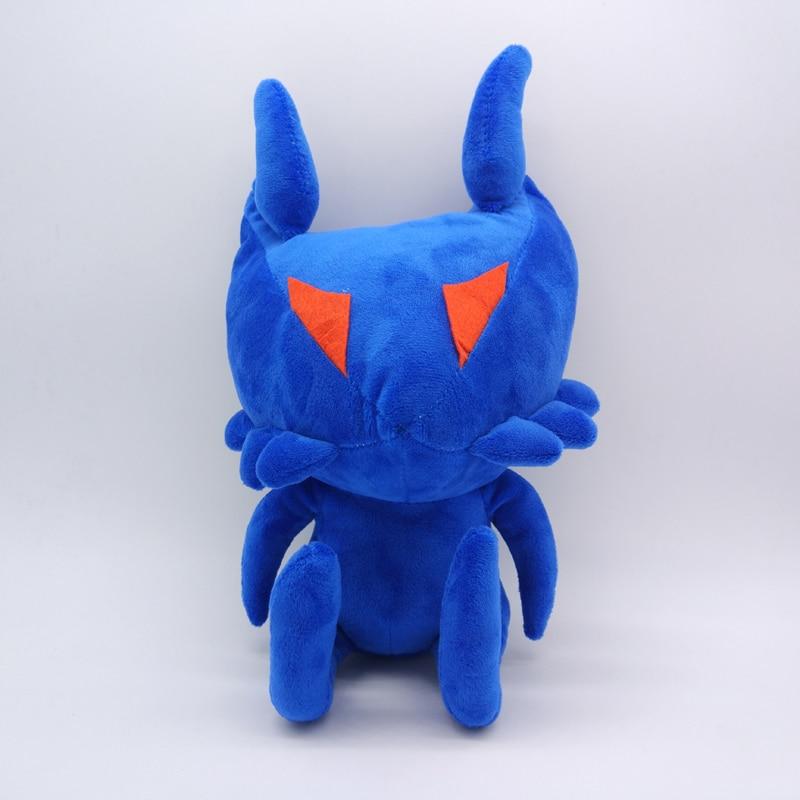 12 30cm Kingdom Hearts Shadow Heartless Blue Ant Plush Toy Stuffed Soft Dolls