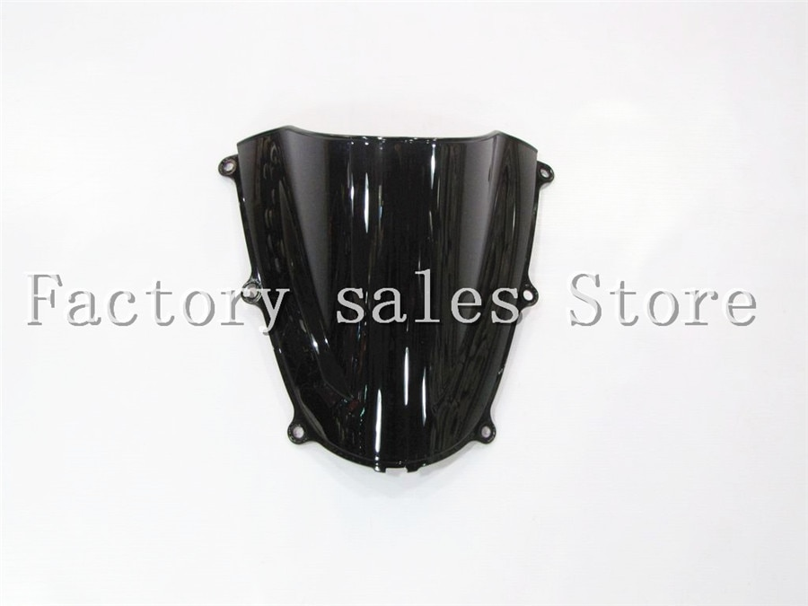 ¡Producto en oferta! parabrisas negro CBR 600 RR CBR600RR F5 2005 2006 con doble burbuja CBR600 RR CBR 600RR