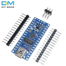 Nano V3.0 3.0 ATmega168 CH340G CH340 Mini USB UART Interface Board Micro controller Module Voor Arduino 3.3V 5V microcontroller