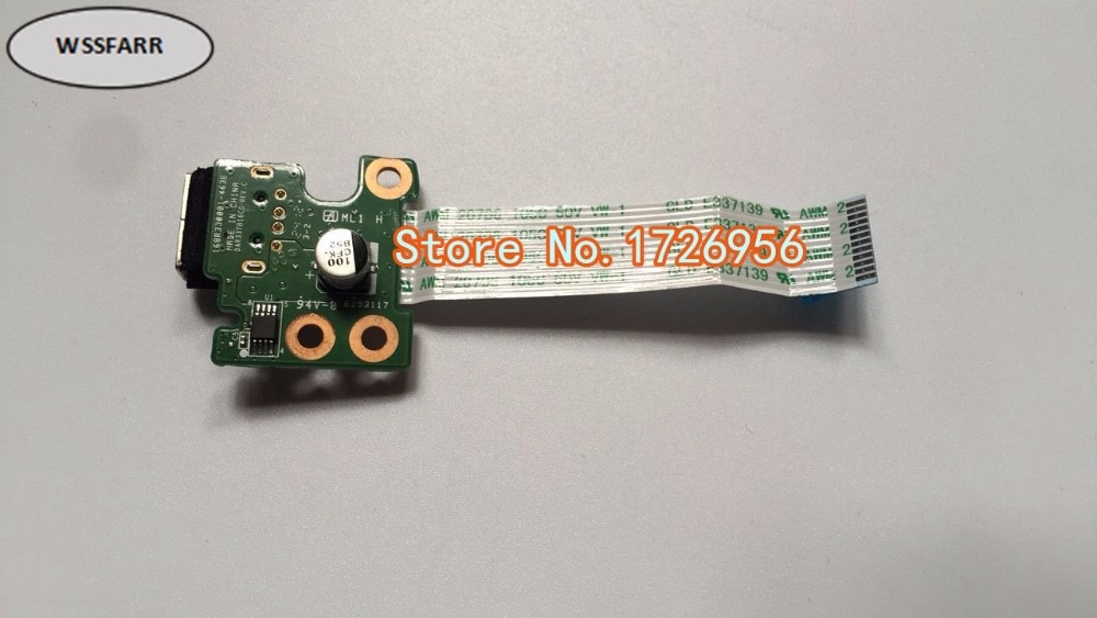 Placa de alimentación USB Original con Cable para HP Pavilion G4 G6 G7 envío gratis