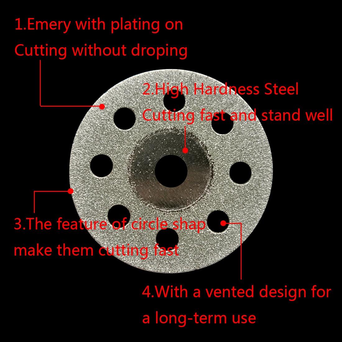 Juego de herramientas 10 piezas / 5 piezas Dremel muela abrasiva de - Herramientas abrasivas - foto 5