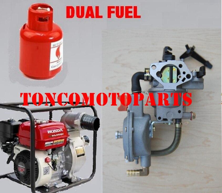 Carburador lpg para bomba de água 4.5-5.5kw 188f gx390 + 90cm * 90cm cachecol como presente