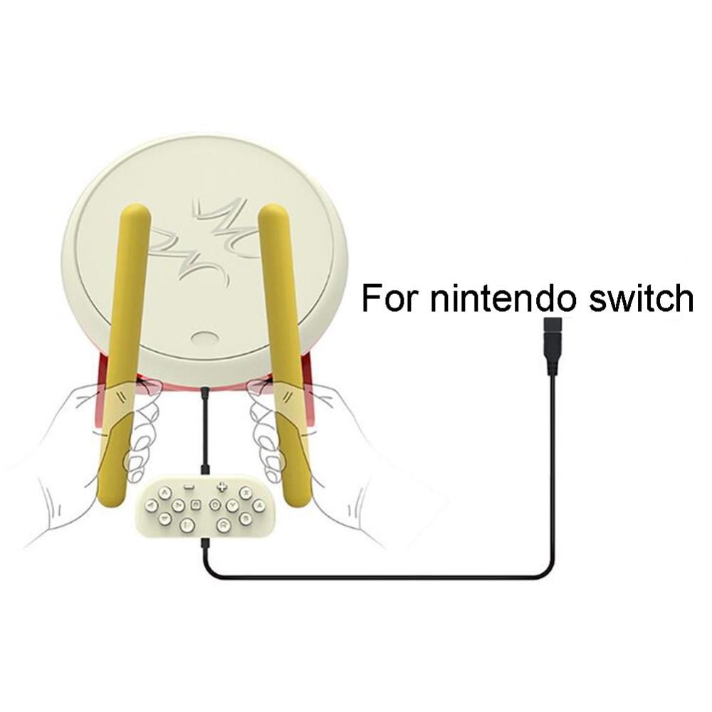 Controlador Pubg 8bitdo Gamepad Pubg Joystick móvil Taiko No Tatsujin batería palos para Nintendo Wii consola controlador de videojuego