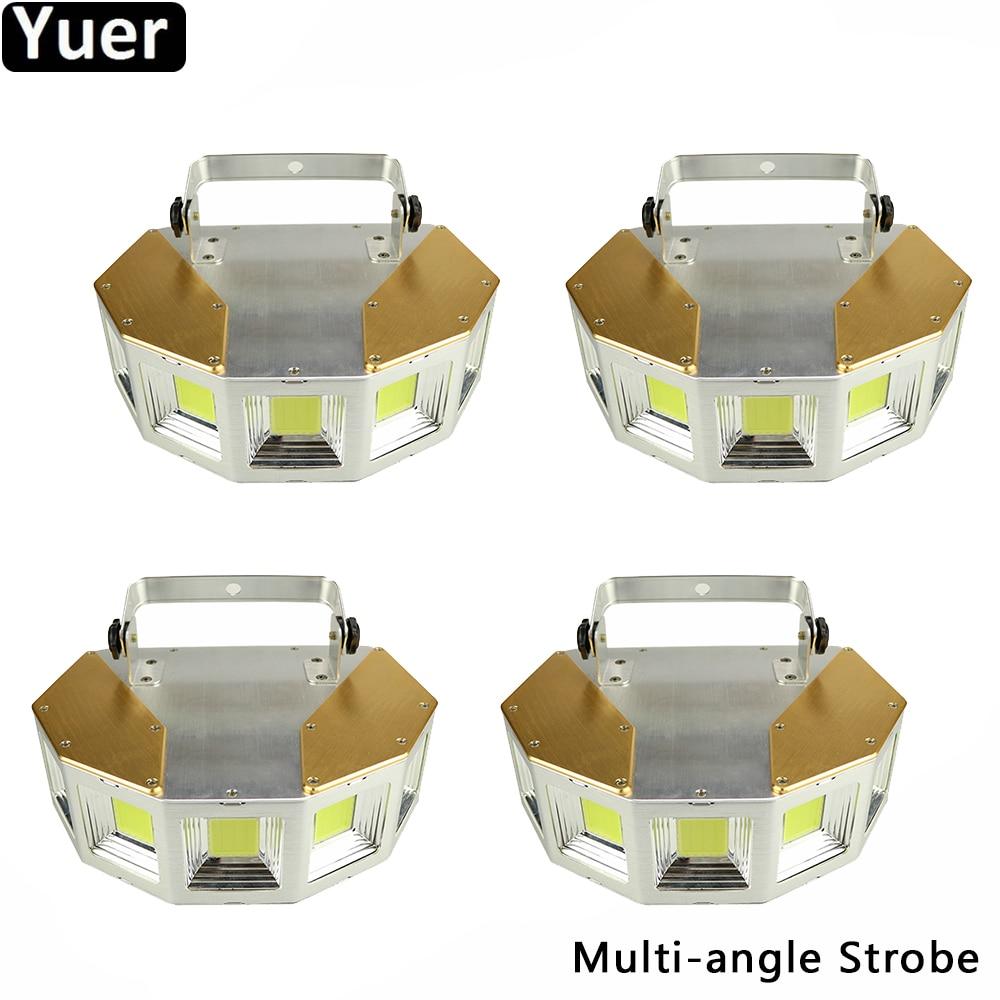 4Pcs/Lot 150W Multi Angle Strobe Light 5 Angles Flashing Dance Club Lighting DJ Disco Wedding Nightclub Bar Strobe Effect Light