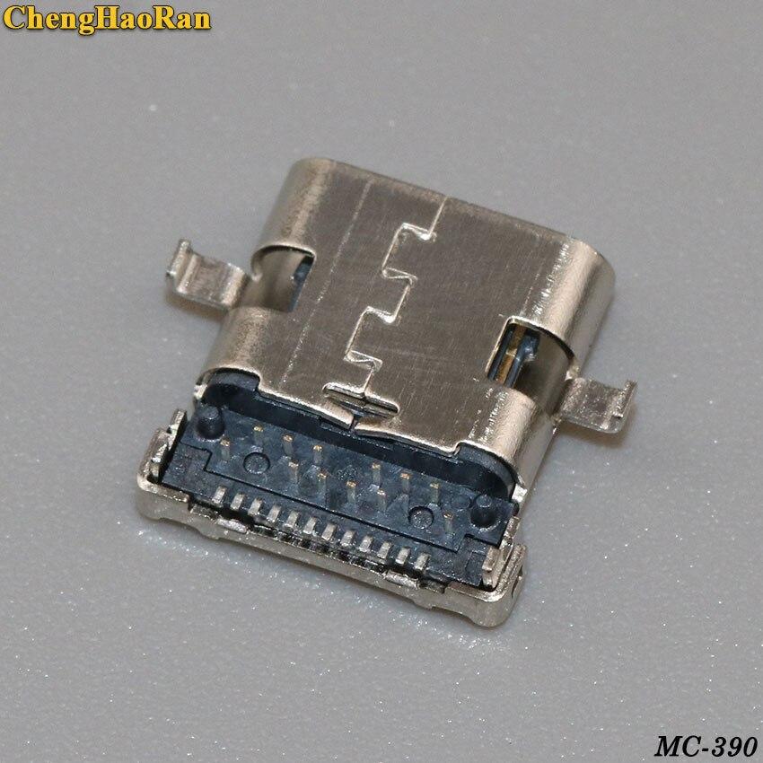 Chenghaئران 20 قطعة المصغّر USB 3.1 أنثى نوع C USB-C 24Pin موصل المصغّر USB مقبس USB جاك تهمة ميناء التوصيل 3.1 ميناء