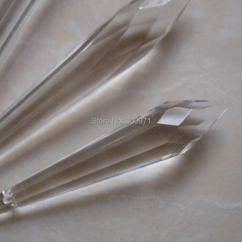 200 pçs/lote 55mm cristal U-DROP ICICLE PRISM PARA pendurar peças de cristal do candelabro de CRISTAL pingente gota, frete grátis