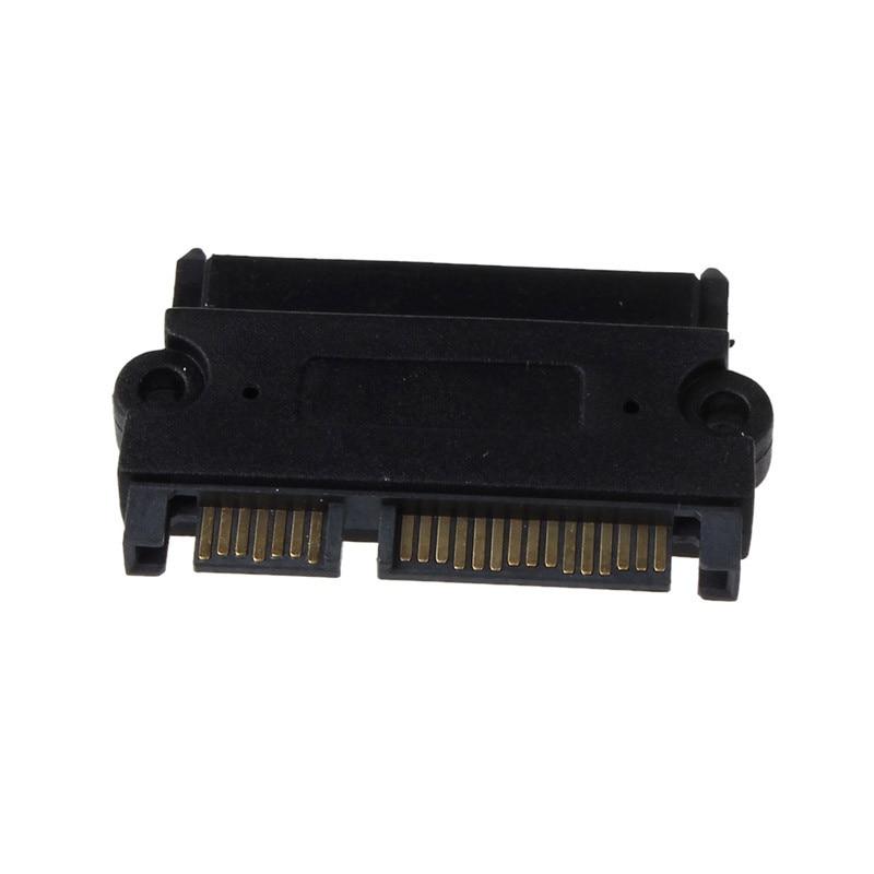Сменные аксессуары PC адаптер addon plug - ins SATA 22P 7 + 15 Pin штекер на SATA 22Pin 7 + 15 Женский переходник