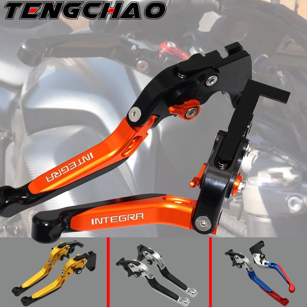 Motorcycle Folding Extendable CNC Moto Adjustable Clutch Brake Levers For Honda Integra 750 DCT Integra750 2014-2018