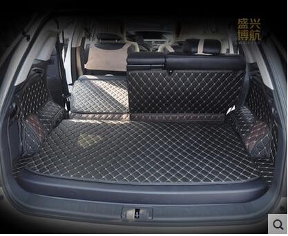 CHOWTOTO de cuero impermeable alfombras para Lexus RX Serie AA encargo especial esteras para maletero para Lexus RX270/350/450 h