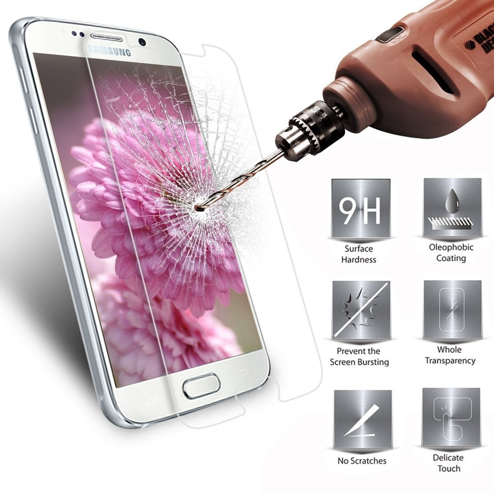 YKSPACE 0,26 мм 9H HD Закаленное стекло протектор экрана для Samsung Galaxy S5 S4 Note 3 4 5 A3 A5 2015