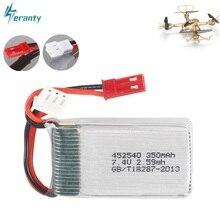 2s 7.4v 350mah 35C Lipo Batteria per MJX X401H X402 JXD 515 515W 515V Batteria RC Mini FPV Drone Quadcopter Elicotteri 3.7v 1pcs