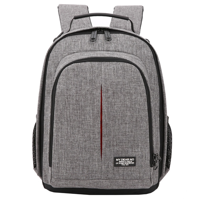 Фото камера водонепроницаемый рюкзак видео плечи мягкий штатив сумка w/дождевик для мужчин и женщин Чехол пакет для Canon Nikon DSLR