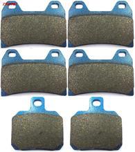 Sintered Brake Pad Set for DUCATI 1000 Multistrada 2007 Front Rear 07