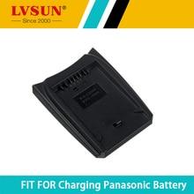 LVSUN CGA-S006 CGR-S006E CGA-S006E CGR-S006 DMW-BMA7 Batterie Plaque Dadaptation pour Panasonic Lumix DMC-FZ30 FZ18 FZ28 FZ50 FZ38