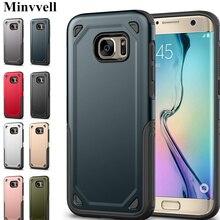 Étui de téléphone militaire antichoc armure pour Samsung S7 Galaxy S7 bord étui hybride pour Samsung S7edge Galaxy S7 couverture robuste