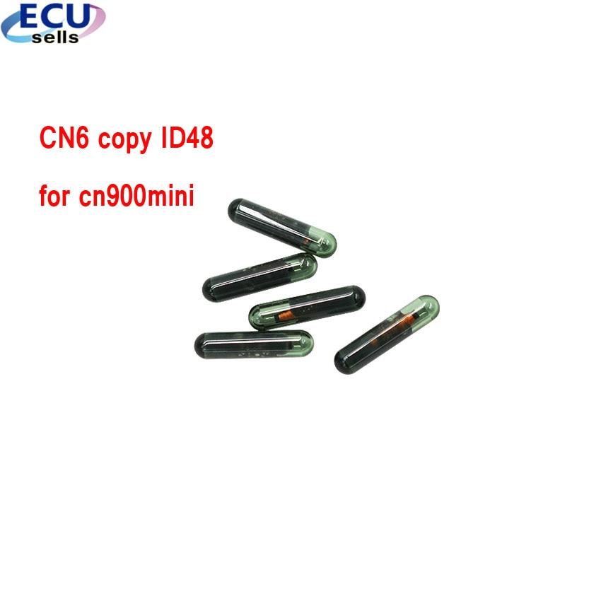 5PCS X CN900mini key chip CN6 Copy ID48 Chip Car Key Chip for CN900 CN900MINI Programmer