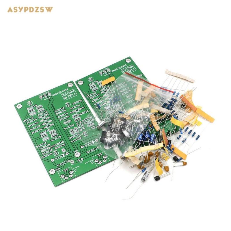 2PCS (2 Kanal) NAC152 Vorverstärker DIY Kit basis auf NAIM NAC152XS Vorverstärker