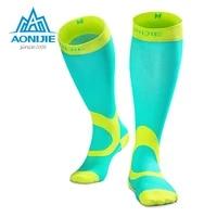 aonijie compression sneakers socks stockings athletic fit running marathon soccer cycling nurses shin splints sports oudtoor men