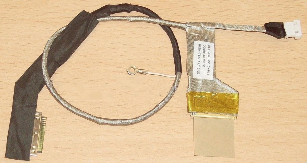 1 lote/5 PCS GENUINE ORIGINAL Para TOSHIBA LCD a CABO VIA SATÉLITE L655D DD0BL6LC000