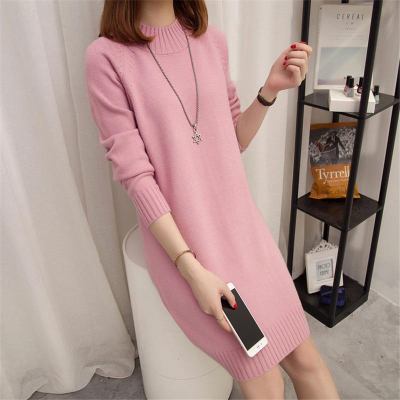Six senses Sweater Women 2018 autumn winter knitted sweater Long Sleeve Knitwear casual pullover women tops LX3800 enlarge