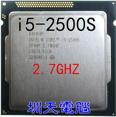 Lntel Core i5 2500S i5 CPU Prozessor 2,7 GHz LGA 1155 65W Quad Core scrattered stücke (arbeits 100% freies Verschiffen) i5 2500s
