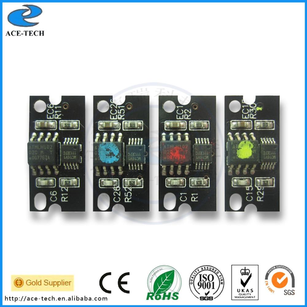 TN318 chip de tóner compatible para Konica Minolta Bizhub C20 C20P C20PX C30P C31 impresora láser a color recarga cartucho 8K de la UE