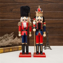 ¡Nuevo! mesa de madera alemana de 38Cm de altura para Navidad soldados Cascanueces King, muñecas Zakka
